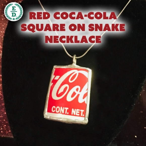 Eco Denizen Jewelry - Coca~Cola Necklace 🥤📿 🇺🇸 🥰